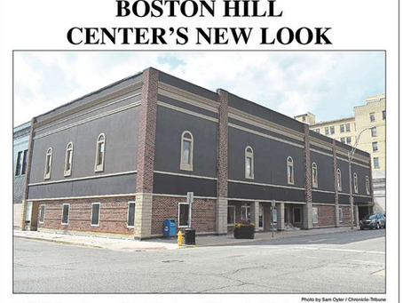 Chronicle Tribune Highlights New Facade