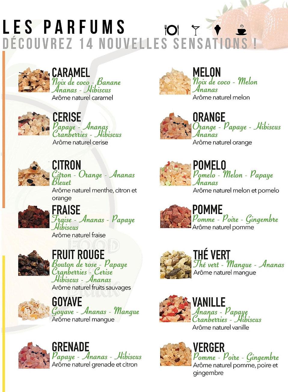 menu fruit touch mix de fruits déshydratés