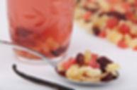 infusion de fruits déshydratés
