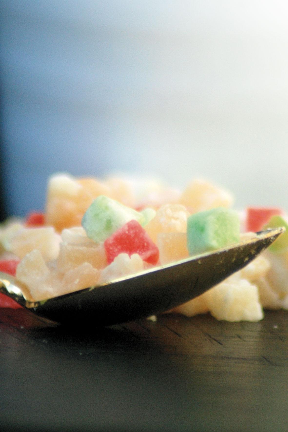 Pépites de fruits déshydratés fruit