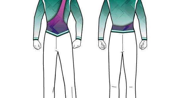 Green/Purple Geometric