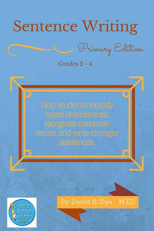 Sentence Writing: Primary