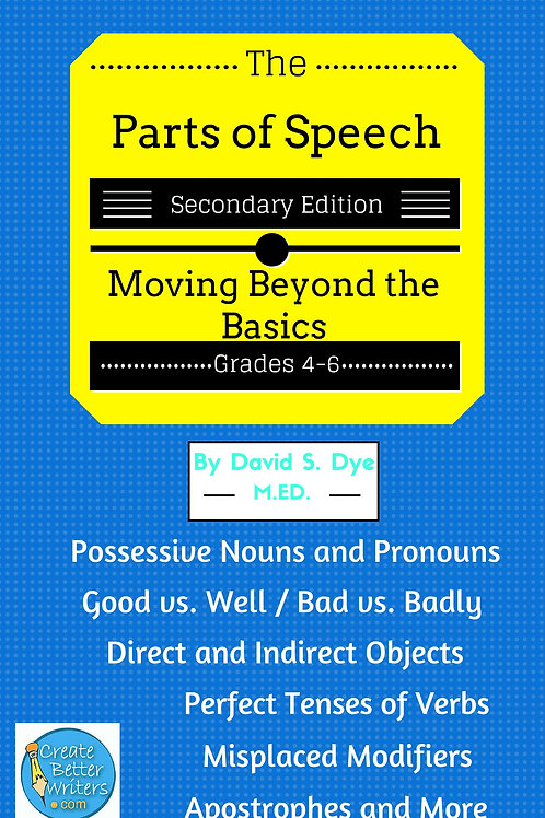 Parts of Speech: Secondary