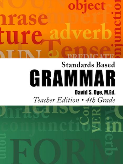 Standards Based Grammar: Grade 4 eBook