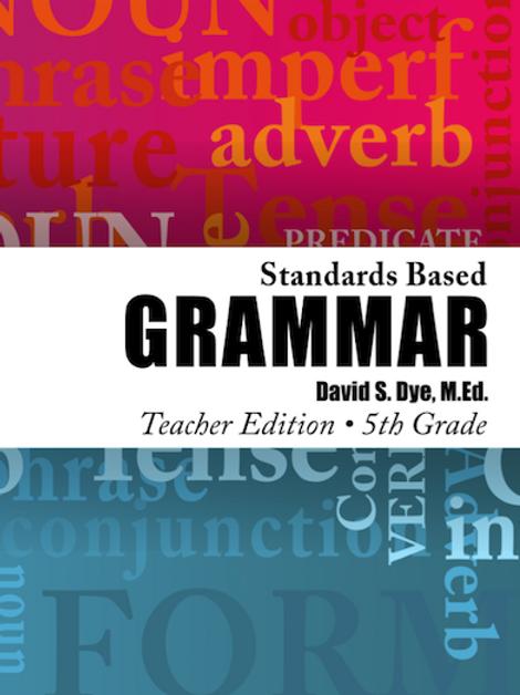 Standards Based Grammar: Grade 5 eBook
