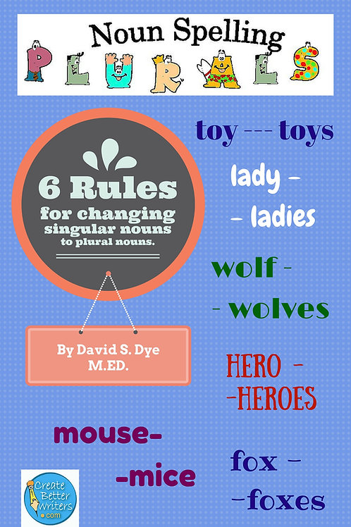 Spelling Plural Nouns
