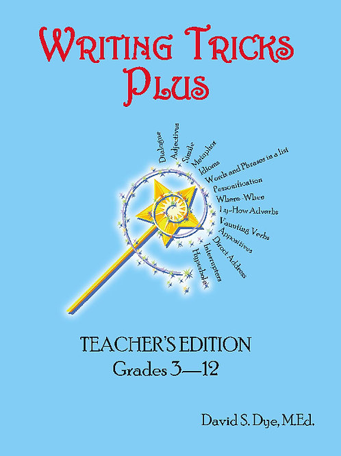 Writing Tricks Plus: Teachers Edition eBook