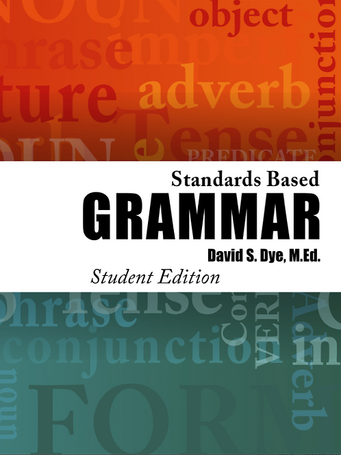 Standards Based Grammar: Student Consumables