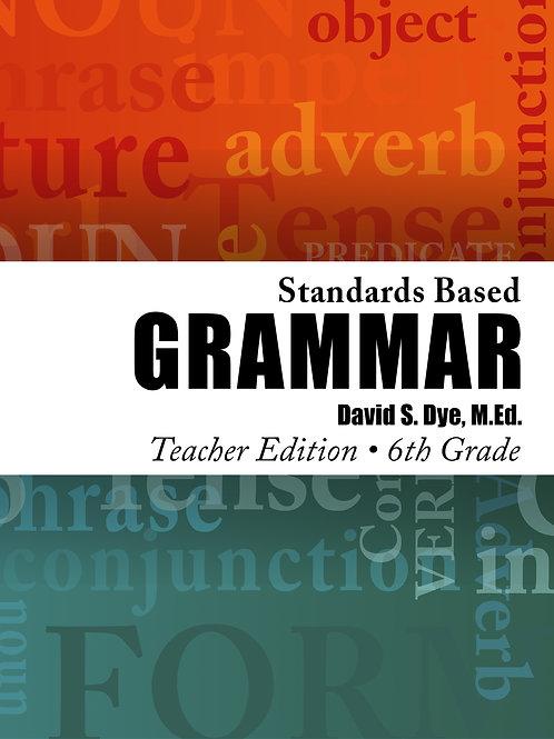 Standards Based Grammar: Grade 6