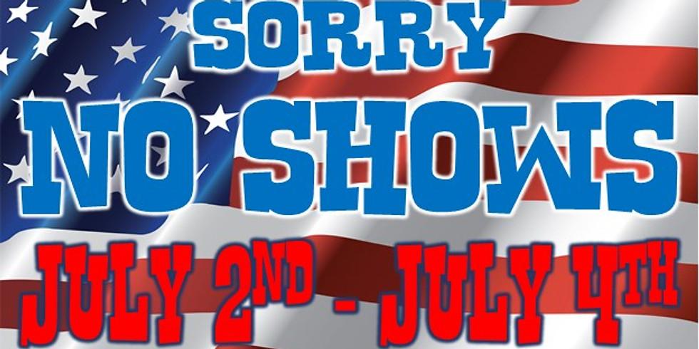 No Show Tonight!