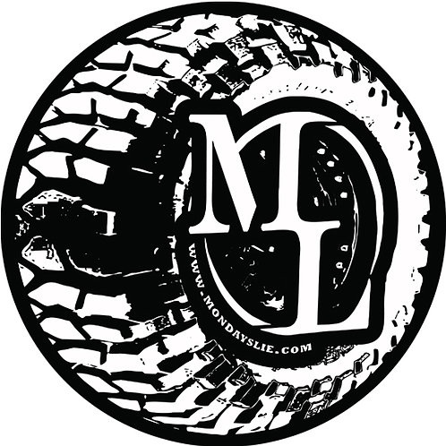 "Mondays Lie ~ ""ML Muddin"" Sticker"