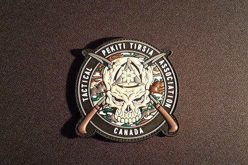 PTTA Canada PVC Patch