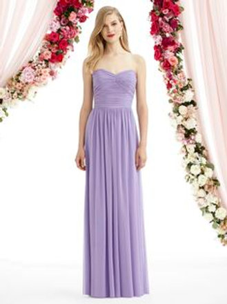 Dessy Chiffon Bridesmaids/Prom Gown