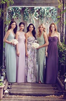Dessy bridesmaids Daisy B. Nell Evesham