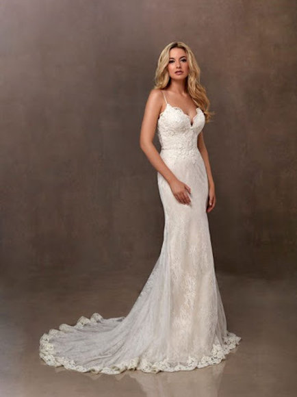Art Couture Lace Bridal Gown