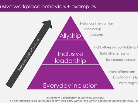 """Inclusion is more than just """"checking boxes"""""""