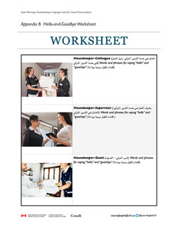 Unit 1 Hello-and-Goodbye Worksheet