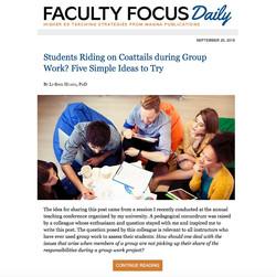 FacultyFocus 2018