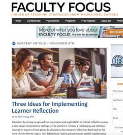 Faculty Focus Reflection