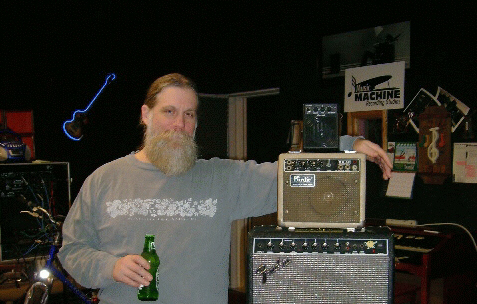 Music Machine Recording Swamp Jam