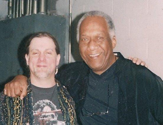 With Chuck Rainey