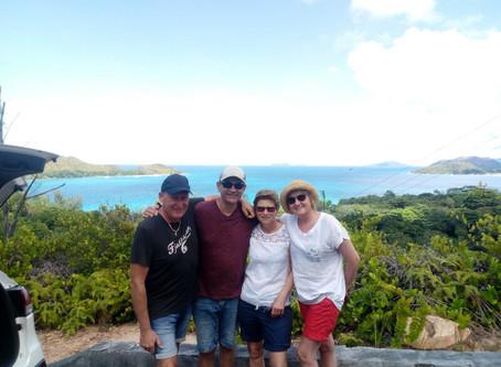 """Praslin island tour with """"FAMILY KARRER"""""""