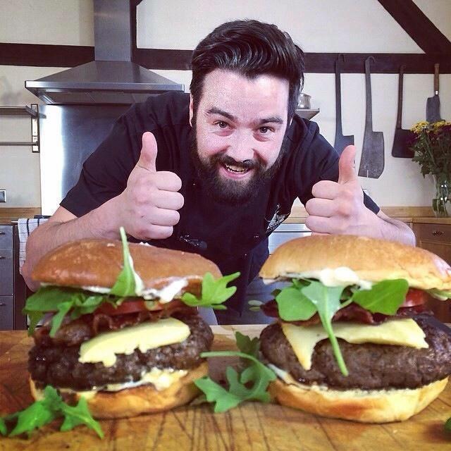 Venison Haunch Burgers