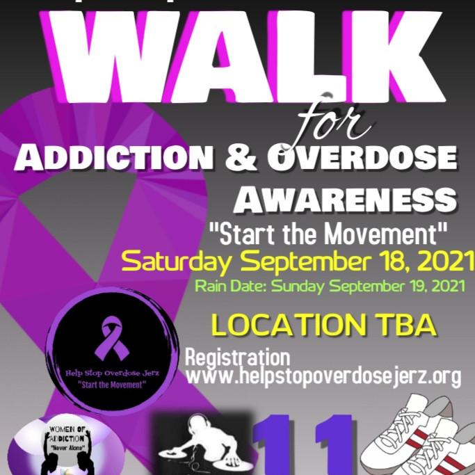 Walk for Addiction & Overdose Awareness