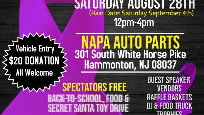 Vehicle Registration- Saturday August 28 Auto Show