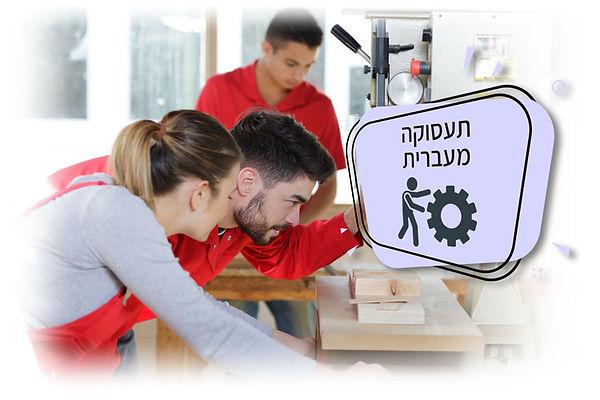 עובדים בתעסוקה מעברית לשיקום תעסוקתי
