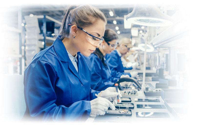 מלחימות במפעל אלקטרוניקה