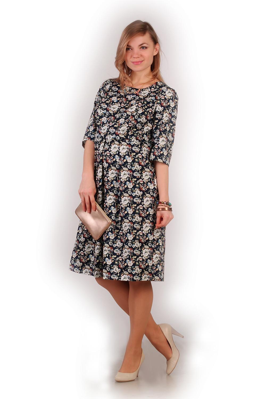 Плаття для вагітних підкреслить вашу красу, яркий квітковий принт і натуральна тканина для комфорта майбутній мами