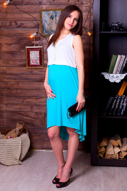 Dress COLOR ASYMMETRY
