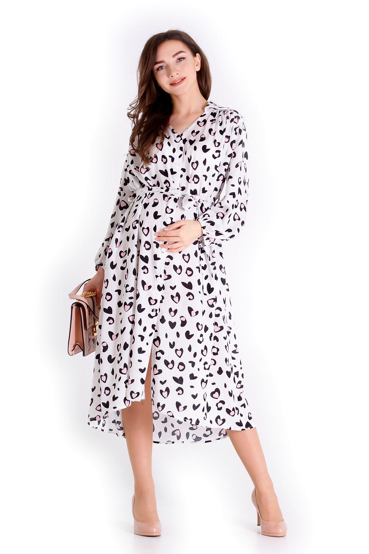 Сукня для вагітних з натуральної бавовни, дуже вишукана та гарно, гарно сідає після вагітності.