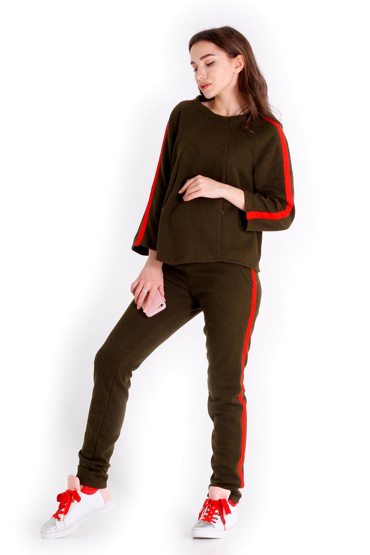 спортивний костюм для вагітних має систему годування, підходить для носіння після вагітності.