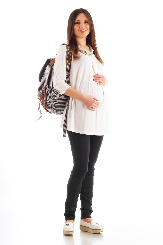 штани для вагітних з трикотажу, дуже зручні, не сковують руху, підходять для всіх строках вагітності.