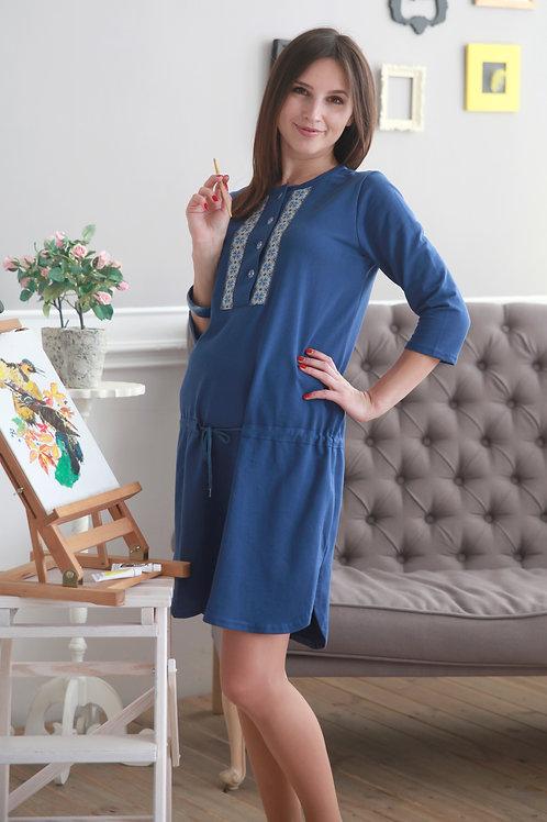 Dress LUCKY DAY (blue)