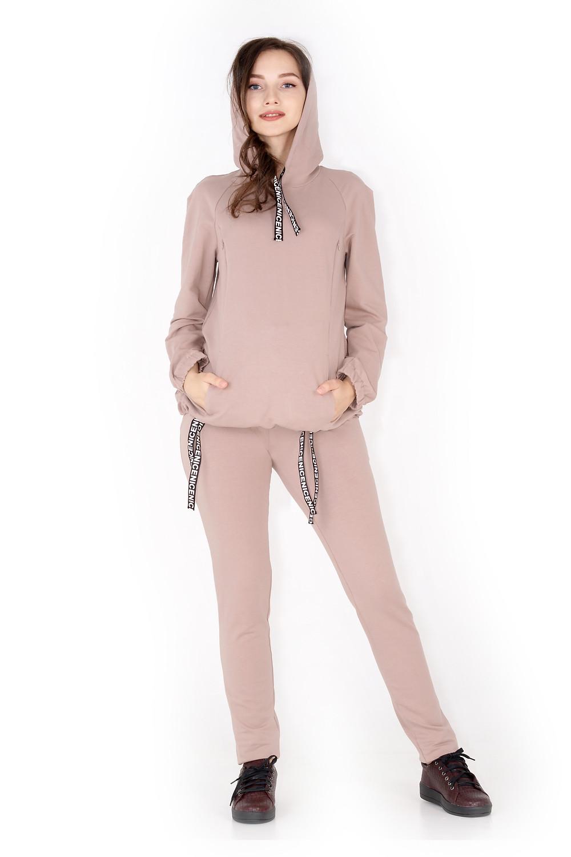 купити костюм для вагітних з натуральнох тканини - одяг для вагітних осінь-зима