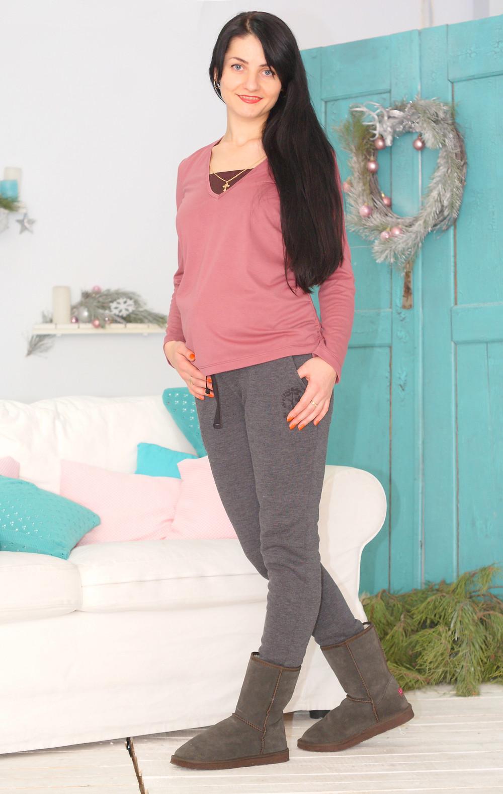 одяг для вагітних зима
