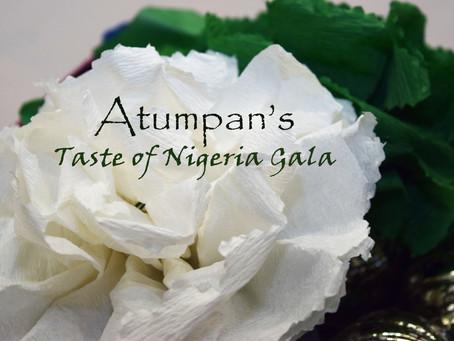 First Annual Gala: A Taste of Nigeria