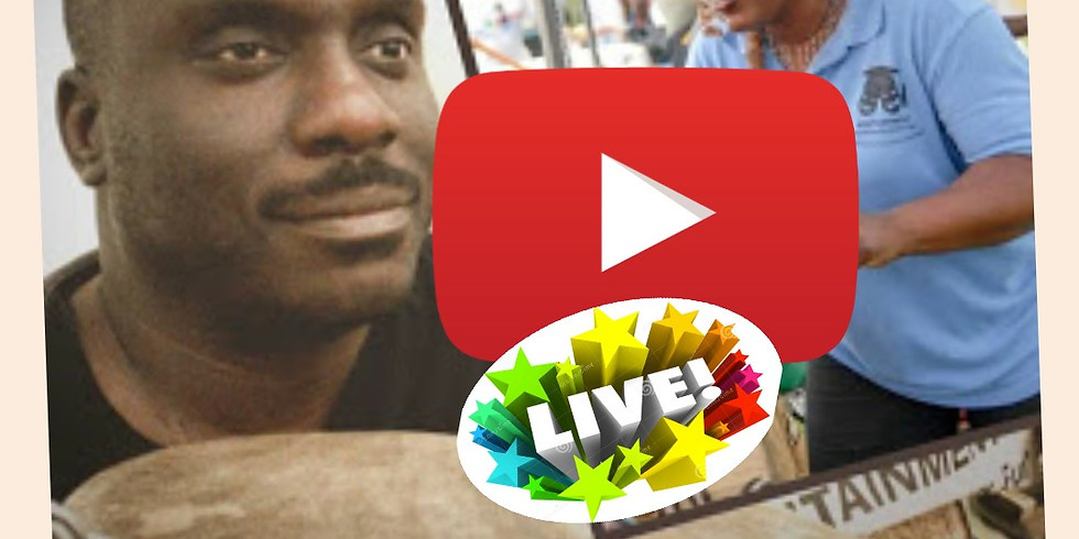 Blind Guy His Wife LIVE Featuring Djembefola Kam Kelly