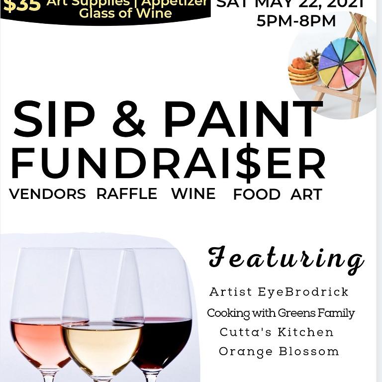 Sip & Paint Fundraiser