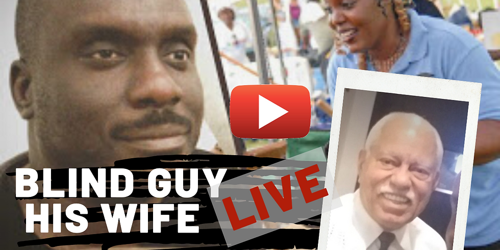 Blind Guy His Wife LIVE Featuring Son of Tuskeegee Airman Howard Baugh