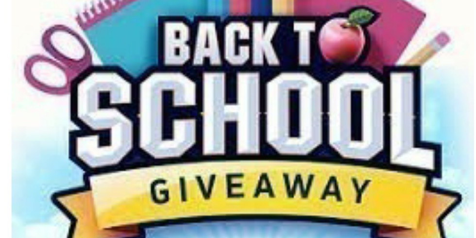 School Supply Giveaway at 757 Unity Drum Circle
