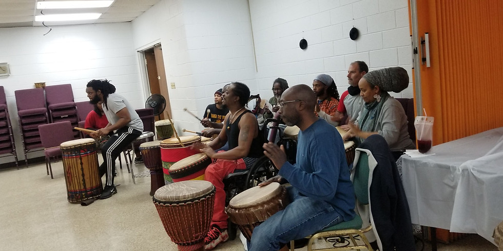 African Dance & Drum at Greater Harvest