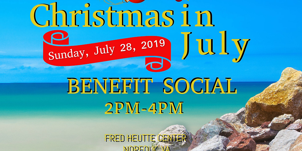 Christmas in July Benefit Social