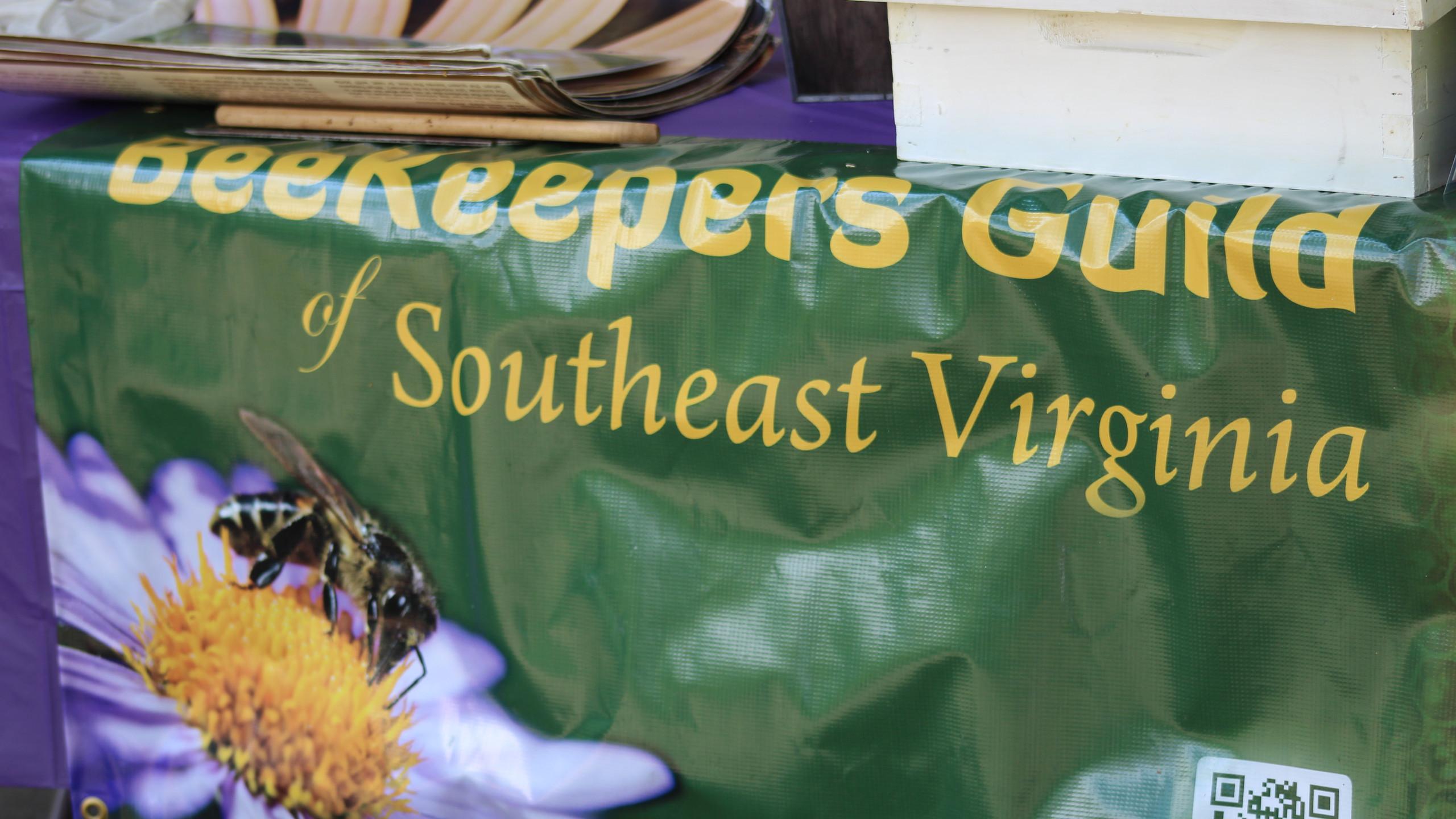 Beekeepers brought hands on demos.