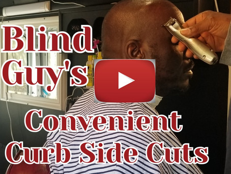 Blind Guy's Convenient Curbside Cuts