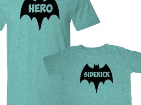 Superheroes & Sidekicks (aka Footnotes)