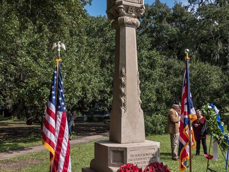 Commemoration Ceremony at World War I Momument